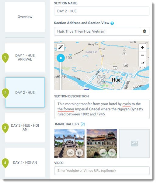 Mapme for Travel and Tourism