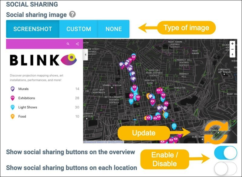 Map-social-sharing