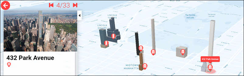 Portofolio map 3D buildings example
