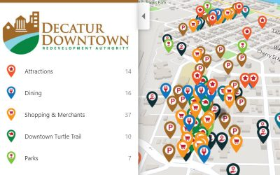Best practices for Engaging Downtown Maps and Guides